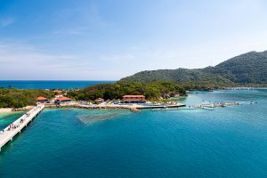 haiti 300x200 - Labadee, Haiti - February 19, 2017: Labadee Is A Port Located On