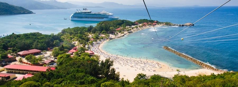 Ta sig till Haiti